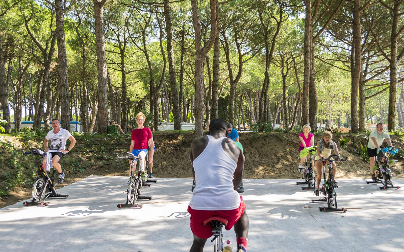 3-Spinning-spinbike-sport-Camping-village-Mediterraneo-Cavallino